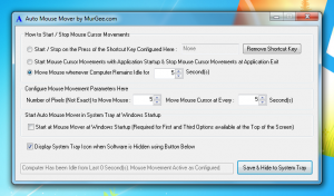 Software for Auto Mouse Movements