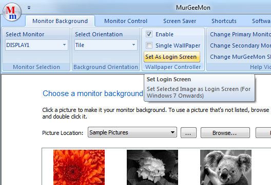 Change the Background Image of Logon Screen on a Windows 7 Computer