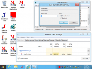 Registry Hack to Switch between Windows 7 and Windows 8 Style Interface