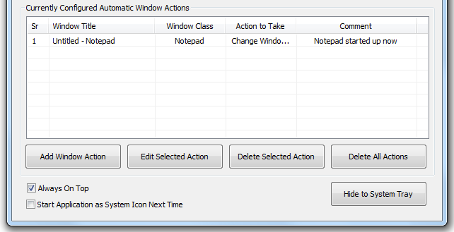 Monitor new Windows with Window Monitor Software Utility