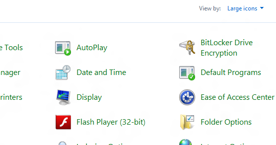 Pre Installed Adobe Flash Player on Windows 8