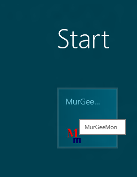 A Shortcut Pinned on Windows 8 Start menu