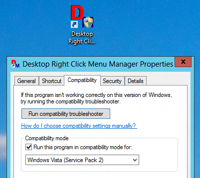 Enable Compatibility Mode in Windows 8