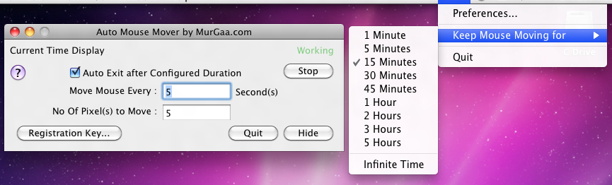Disable Screensaver Activation of Screen blankout on your Macintosh