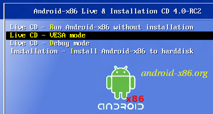 Android on Computer without Hard Disk