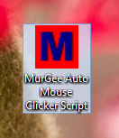 Desktop Shortcut of Mouse Automation Script
