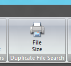 Duplicate File Search Button in Duplicate File Finder