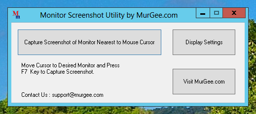 Take Single Monitor Screenshot in your Multiple Monitor Windows Computer