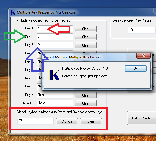 How to Press Multiple Keys on Keyboard with Multiple Key Presser