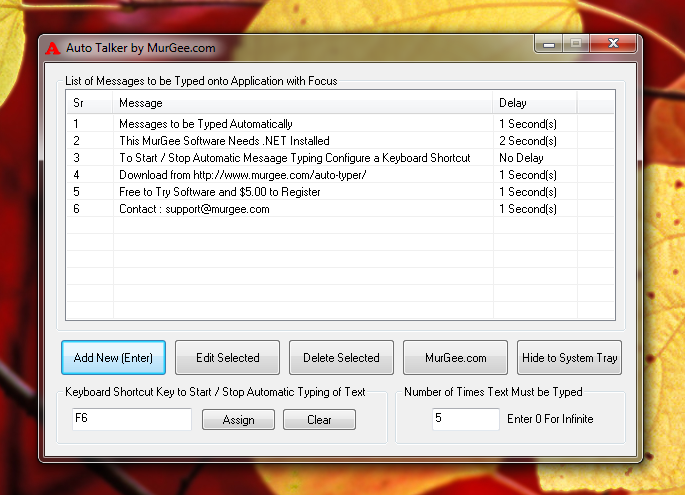Auto Talker for Windows