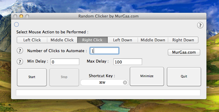 Click at Current Mouse Cursor Location on Mac with Keyboard