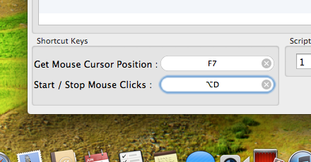 Configurable Keyboard Shortcuts to Click on Mac with Keyboard Keys