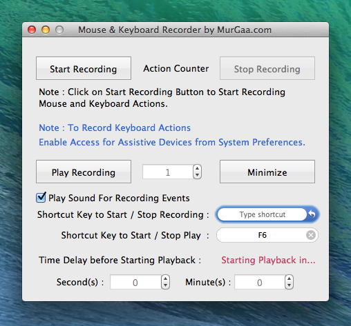 Keyboard Macro Recorder to Record and Playback Automated Text Typing