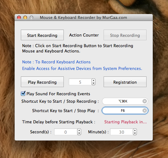 Macro Scheduler for Mac