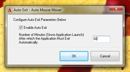 Auto Stop Mouse Movements