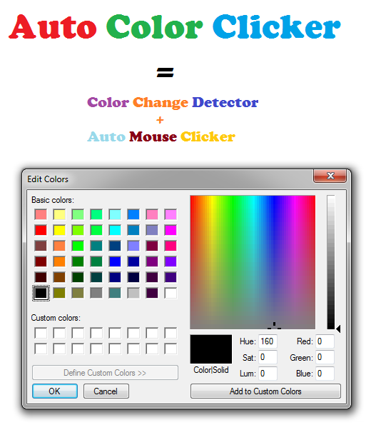 How to Auto Click when Screen Color Changes